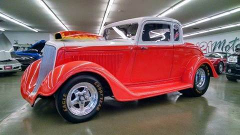 1934 Plymouth Deluxe for sale at 121 Motorsports in Mount Zion IL