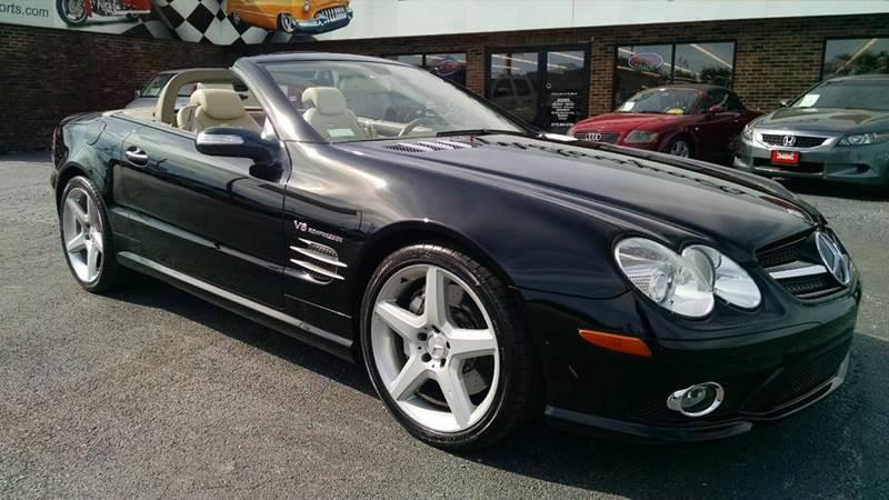2007 Mercedes-Benz SL-Class for sale at 121 Motorsports in Mt. Zion IL