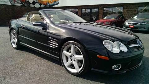 2007 Mercedes-Benz SL-Class for sale at 121 Motorsports in Mount Zion IL