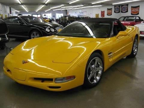 2001 Chevrolet Corvette for sale at 121 Motorsports in Mt. Zion IL