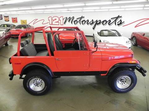 1979 Jeep CJ-7 for sale at 121 Motorsports in Mt. Zion IL