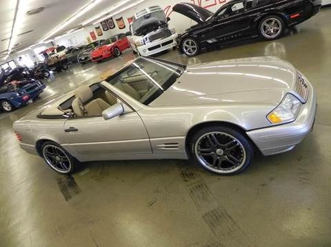 1998 Mercedes-Benz SL-Class for sale at 121 Motorsports in Mt. Zion IL