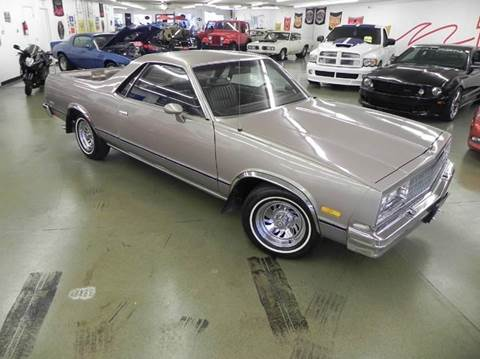 1983 Chevrolet El Camino for sale at 121 Motorsports in Mt. Zion IL