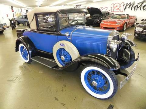1930 Ford Model A for sale at 121 Motorsports in Mount Zion IL