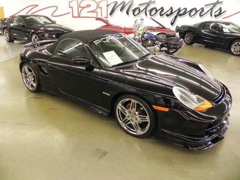 2000 Porsche Boxster for sale at 121 Motorsports in Mt. Zion IL