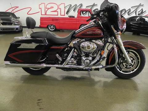 2008 Harley-Davidson Street Glide for sale at 121 Motorsports in Mt. Zion IL