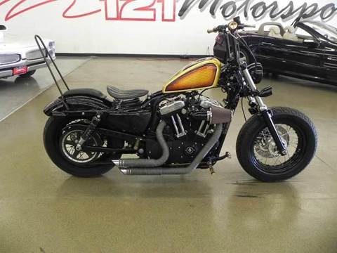 2010 Harley-Davidson XL 1200 for sale at 121 Motorsports in Mt. Zion IL