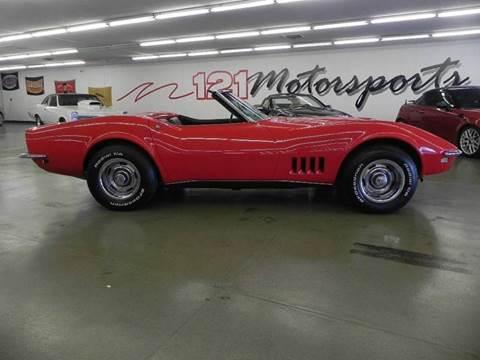 1968 Chevrolet Corvette for sale at 121 Motorsports in Mt. Zion IL
