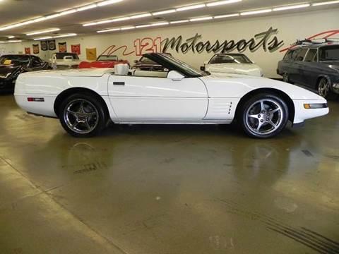 1992 Chevrolet Corvette for sale at 121 Motorsports in Mt. Zion IL