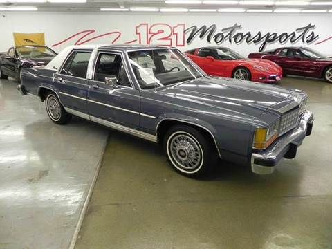 1987 Ford LTD Crown Victoria for sale at 121 Motorsports in Mt. Zion IL
