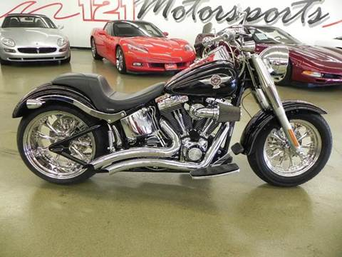 2005 Harley-Davidson FLSTFI for sale at 121 Motorsports in Mt. Zion IL