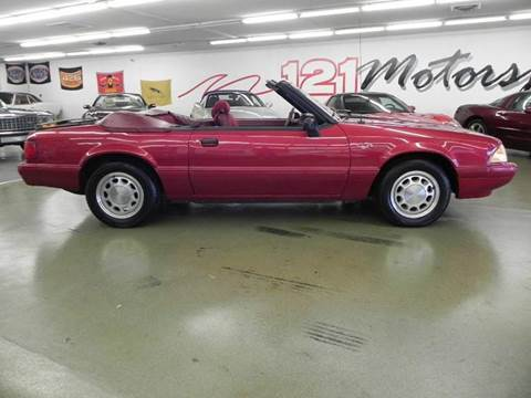 1993 Ford Mustang for sale at 121 Motorsports in Mt. Zion IL