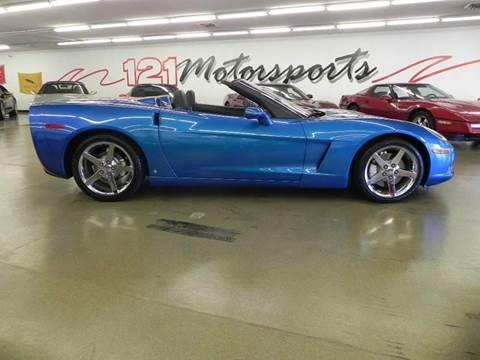2008 Chevrolet Corvette for sale at 121 Motorsports in Mt. Zion IL