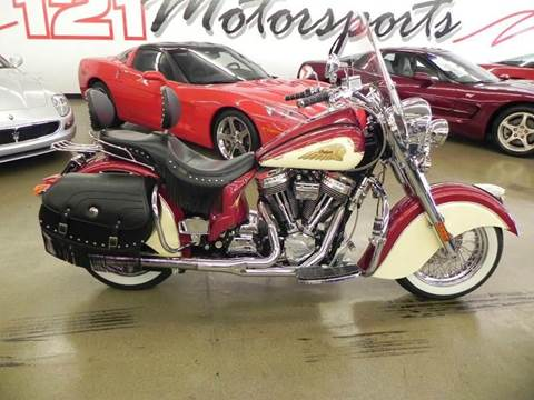 2003 Indian Chief for sale at 121 Motorsports in Mount Zion IL