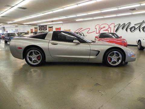 2000 Chevrolet Corvette for sale at 121 Motorsports in Mt. Zion IL