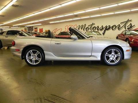 2004 Mazda MX-5 Miata for sale at 121 Motorsports in Mt. Zion IL