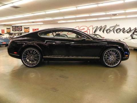 2005 Bentley Continental GT for sale at 121 Motorsports in Mt. Zion IL
