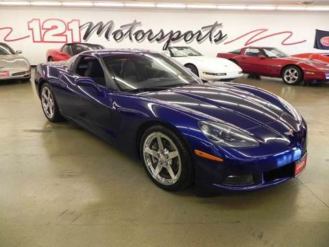 2006 Chevrolet Corvette for sale at 121 Motorsports in Mt. Zion IL