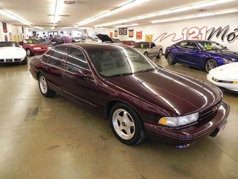 1995 Chevrolet Impala for sale at 121 Motorsports in Mt. Zion IL