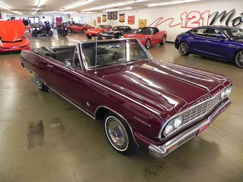 1964 Chevrolet Chevelle Malibu for sale at 121 Motorsports in Mt. Zion IL