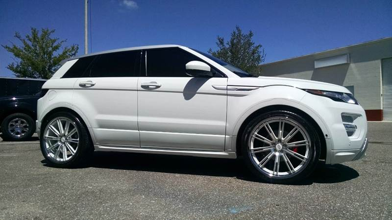 2015 Land Rover Range Rover Evoque for sale at 121 Motorsports in Mount Zion IL