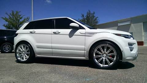 2015 Land Rover Range Rover Evoque for sale at 121 Motorsports in Mt. Zion IL