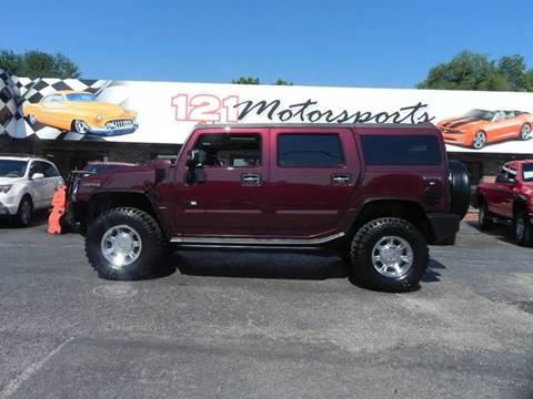 2007 HUMMER H2 for sale at 121 Motorsports in Mt. Zion IL
