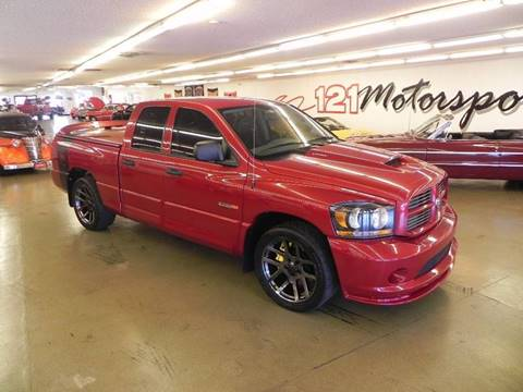 2006 Dodge Ram Pickup 1500 SRT-10 for sale at 121 Motorsports in Mt. Zion IL