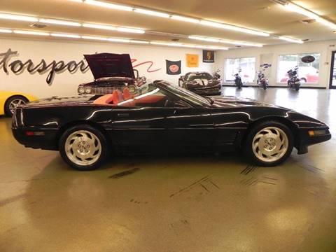 1995 Chevrolet Corvette for sale at 121 Motorsports in Mt. Zion IL