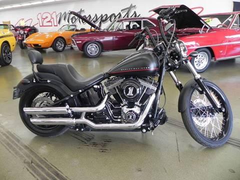 2012 Harley-Davidson FXS-Blackline for sale at 121 Motorsports in Mt. Zion IL