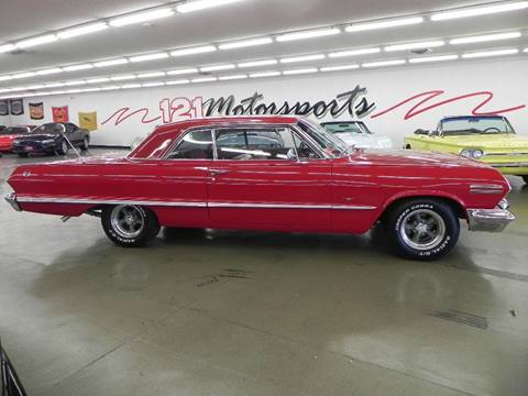 1963 Chevrolet Impala for sale at 121 Motorsports in Mt. Zion IL