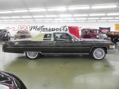 1975 Cadillac DeVille for sale at 121 Motorsports in Mt. Zion IL
