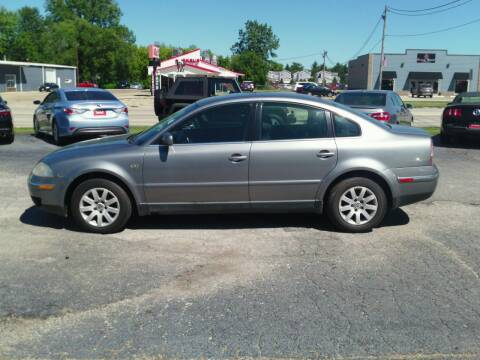 2003 Volkswagen Passat for sale at 121 Motorsports in Mt. Zion IL