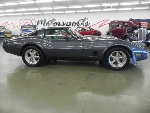 1981 Chevrolet Corvette for sale at 121 Motorsports in Mt. Zion IL