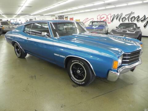 1972 Chevrolet Malibu for sale at 121 Motorsports in Mt. Zion IL