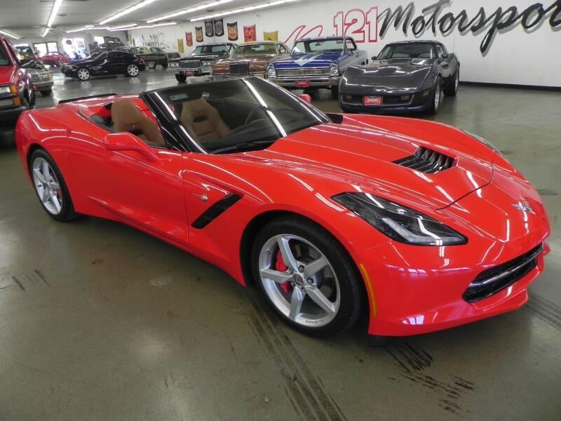 2014 Chevrolet Corvette for sale at 121 Motorsports in Mt. Zion IL