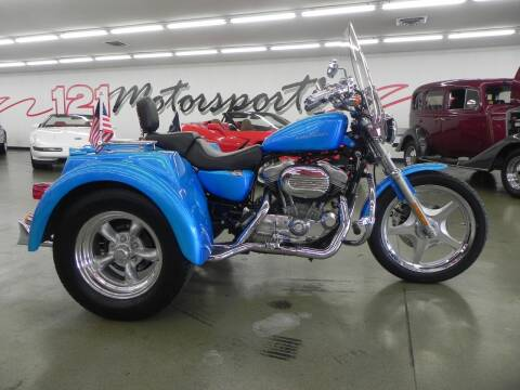 2005 Harley-Davidson Sportster for sale at 121 Motorsports in Mt. Zion IL