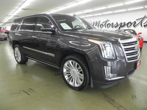 2015 Cadillac Escalade for sale at 121 Motorsports in Mt. Zion IL