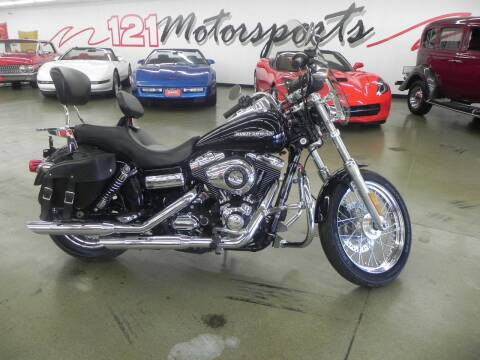 2012 Harley-Davidson Super Glide for sale at 121 Motorsports in Mt. Zion IL