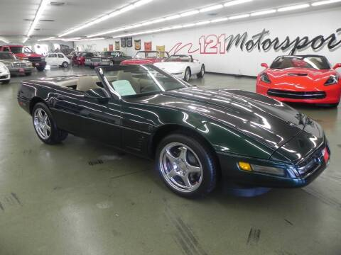 1995 Chevrolet Corvette for sale at 121 Motorsports in Mt. Zion IL