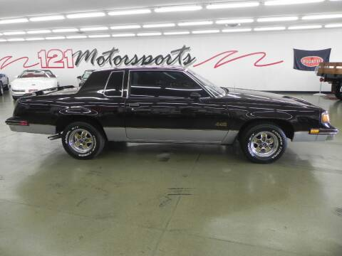 1988 Oldsmobile Cutlass Supreme for sale at 121 Motorsports in Mt. Zion IL