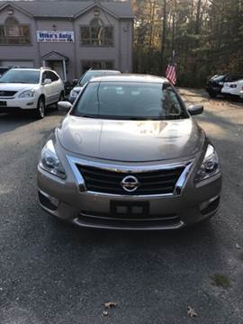 2013 Nissan Altima for sale at Mike's Auto Sales in Westport MA