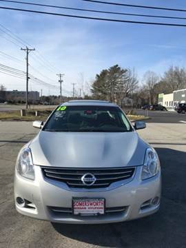 2010 Nissan Altima for sale at Mike's Auto Sales in Westport MA