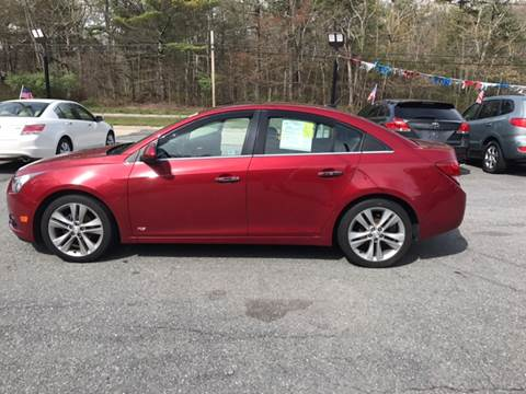 2011 Chevrolet Cruze for sale at Mike's Auto Sales in Westport MA