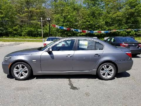 2010 BMW 5 Series for sale at Mike's Auto Sales in Westport MA