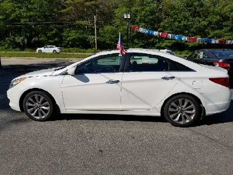 2012 Hyundai Sonata for sale at Mike's Auto Sales in Westport MA