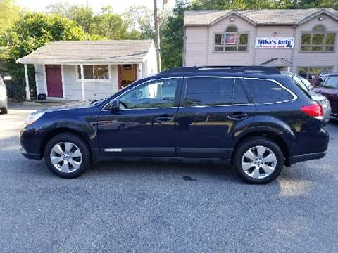 2012 Subaru Outback for sale at Mike's Auto Sales in Westport MA