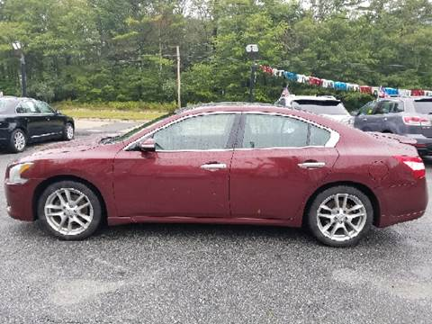 2010 Nissan Maxima for sale at Mike's Auto Sales in Westport MA