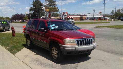 2002 Jeep Grand Cherokee for sale at Jeffreys Auto Resale, Inc in Roseville MI