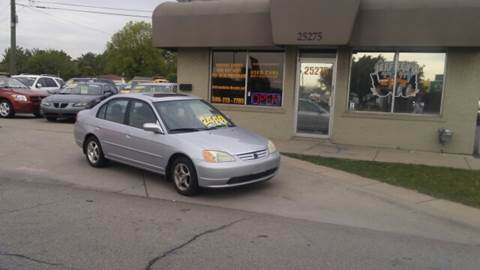 2003 Honda Civic for sale at Jeffreys Auto Resale, Inc in Roseville MI
